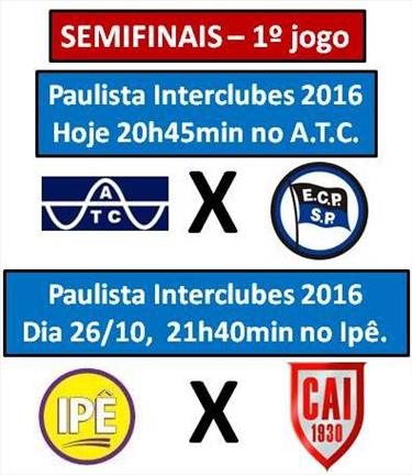 Paulista Interclubes 2016