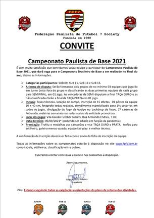 Paulista de Base 2021
